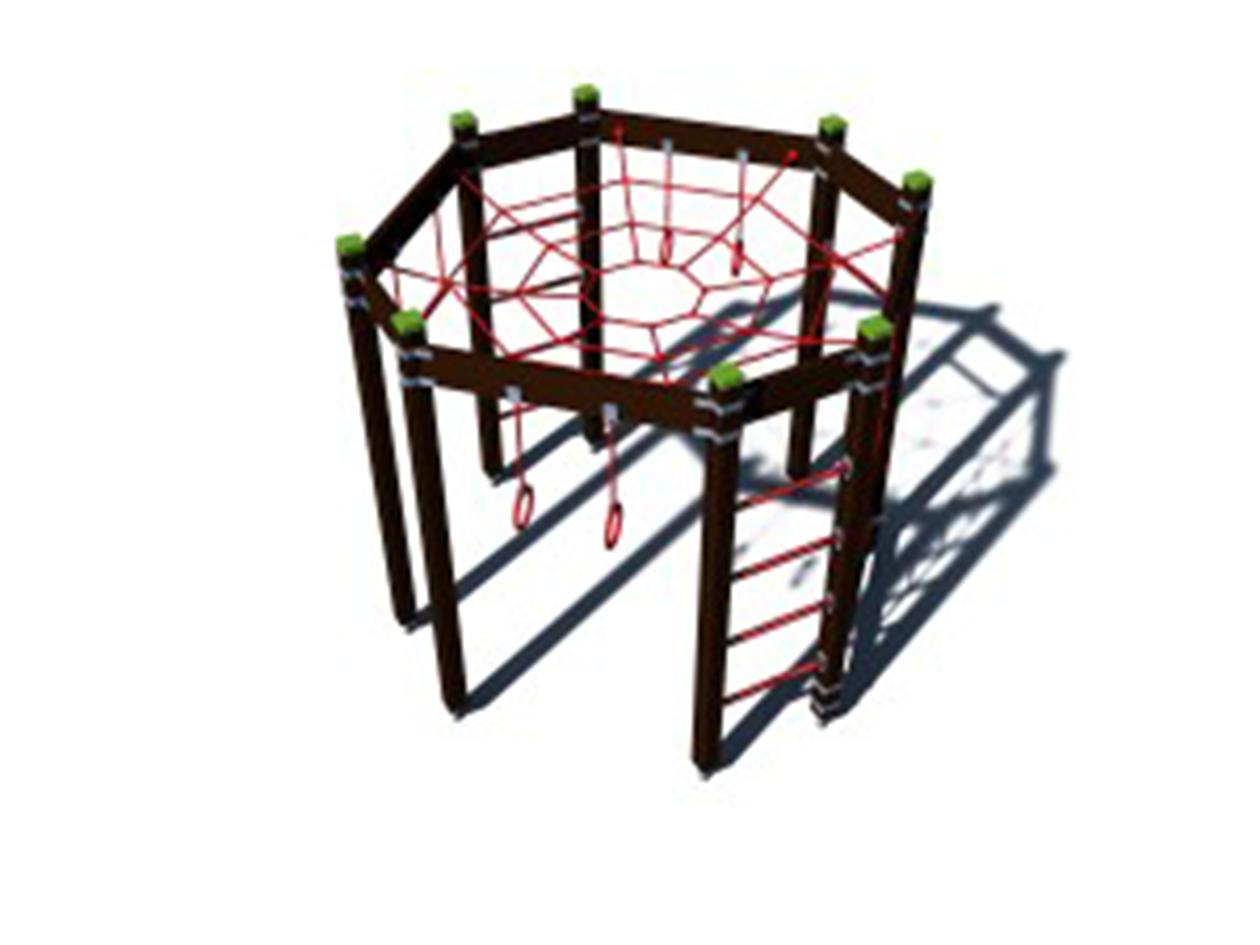 Nyolcszögletű mászóka