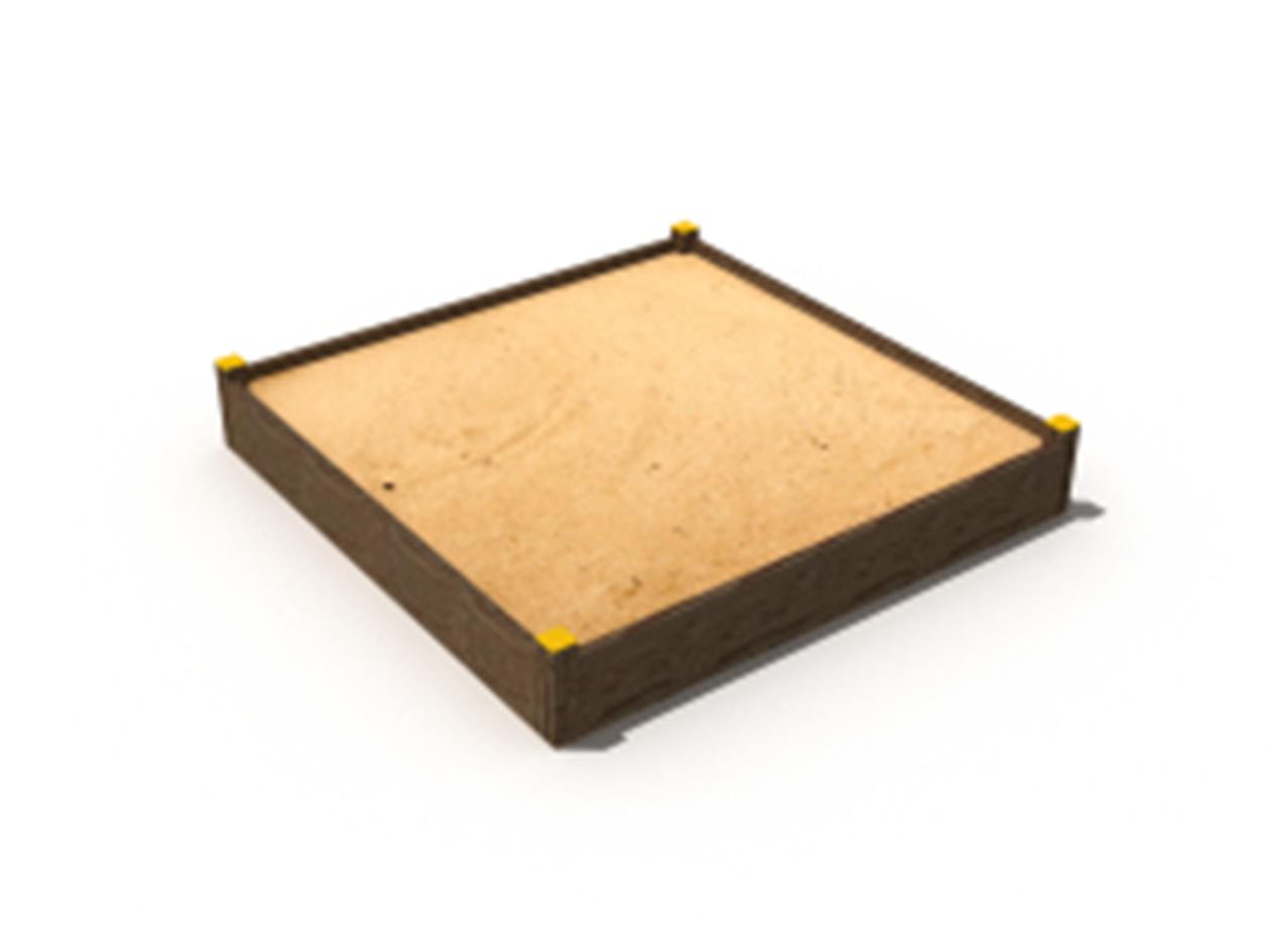 H-01 Négyzet alakú homokozó