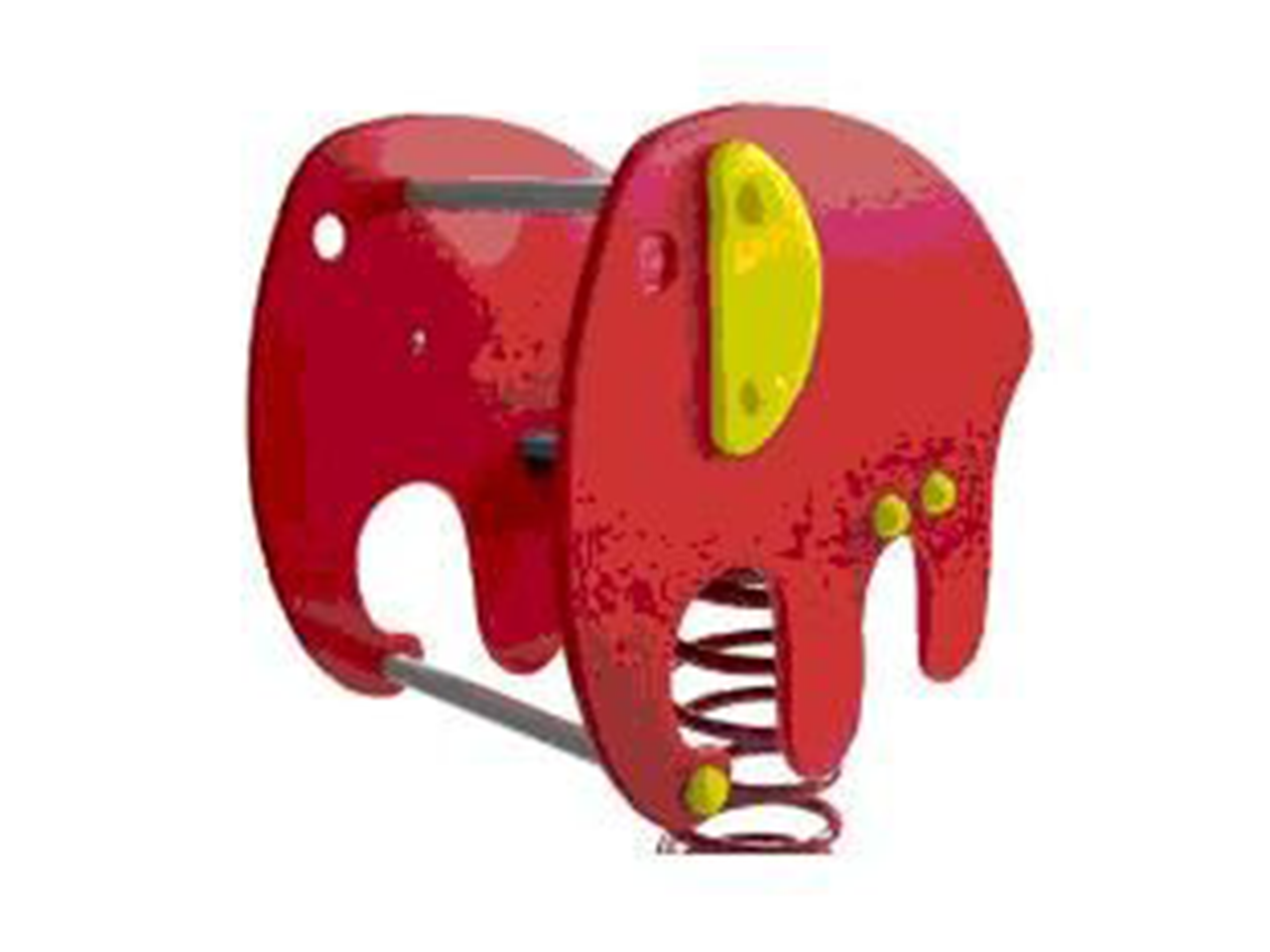 Bassic rugós játék elefánt