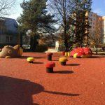3D öntött gumi burkolatú játszótér Csehországban